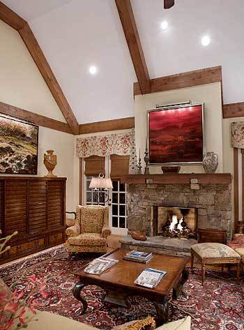 Living Area featured in the Cottage By Parker Rose Custom Homes in Morgantown, WV