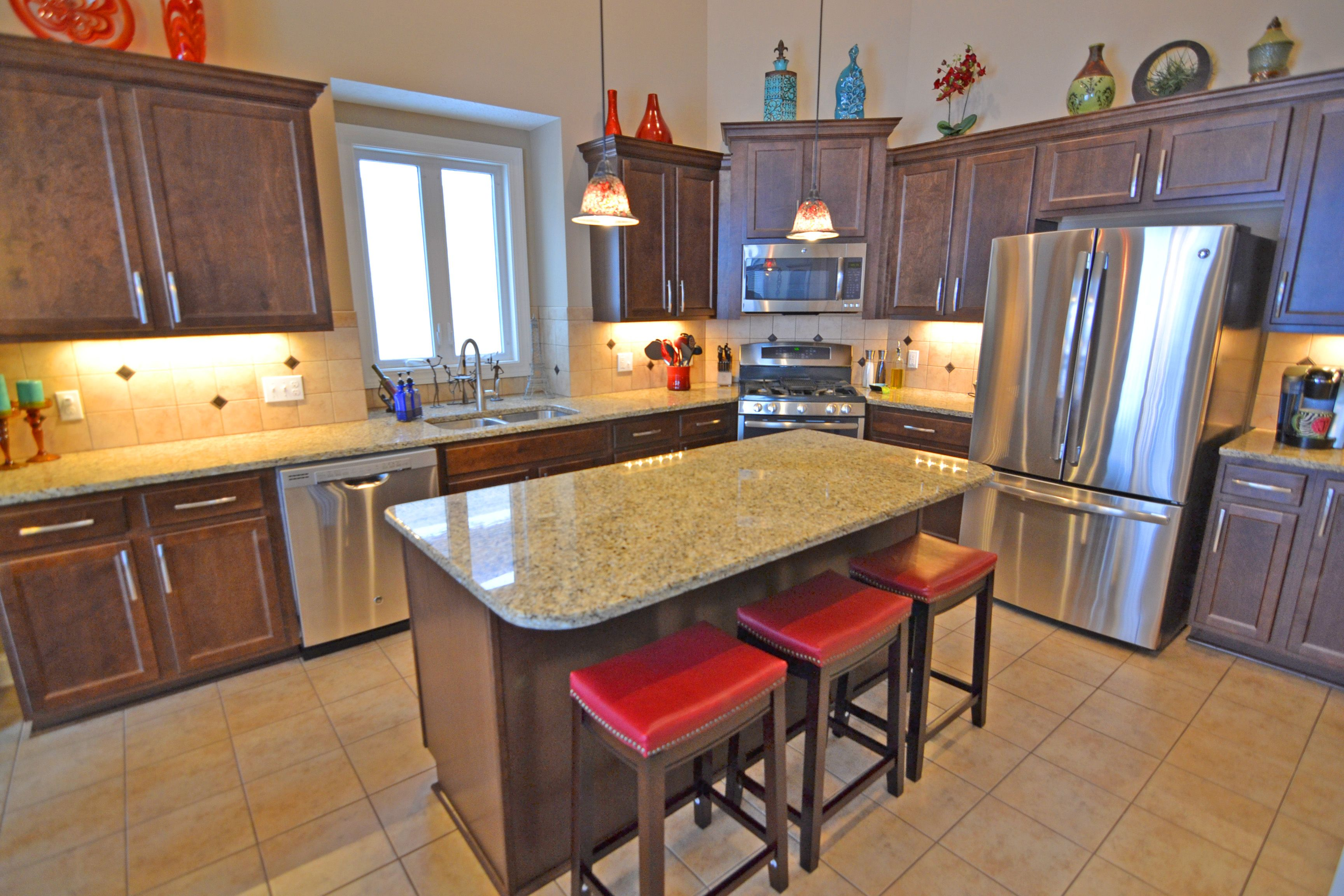 Kitchen featured in the Saratoga Villa By Parkview Homes in Cleveland, OH