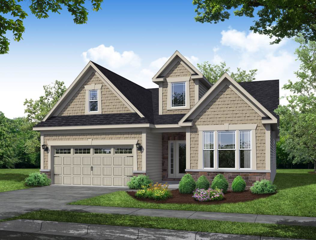 Exterior featured in The Heritage By Parkview Homes in Cleveland, OH