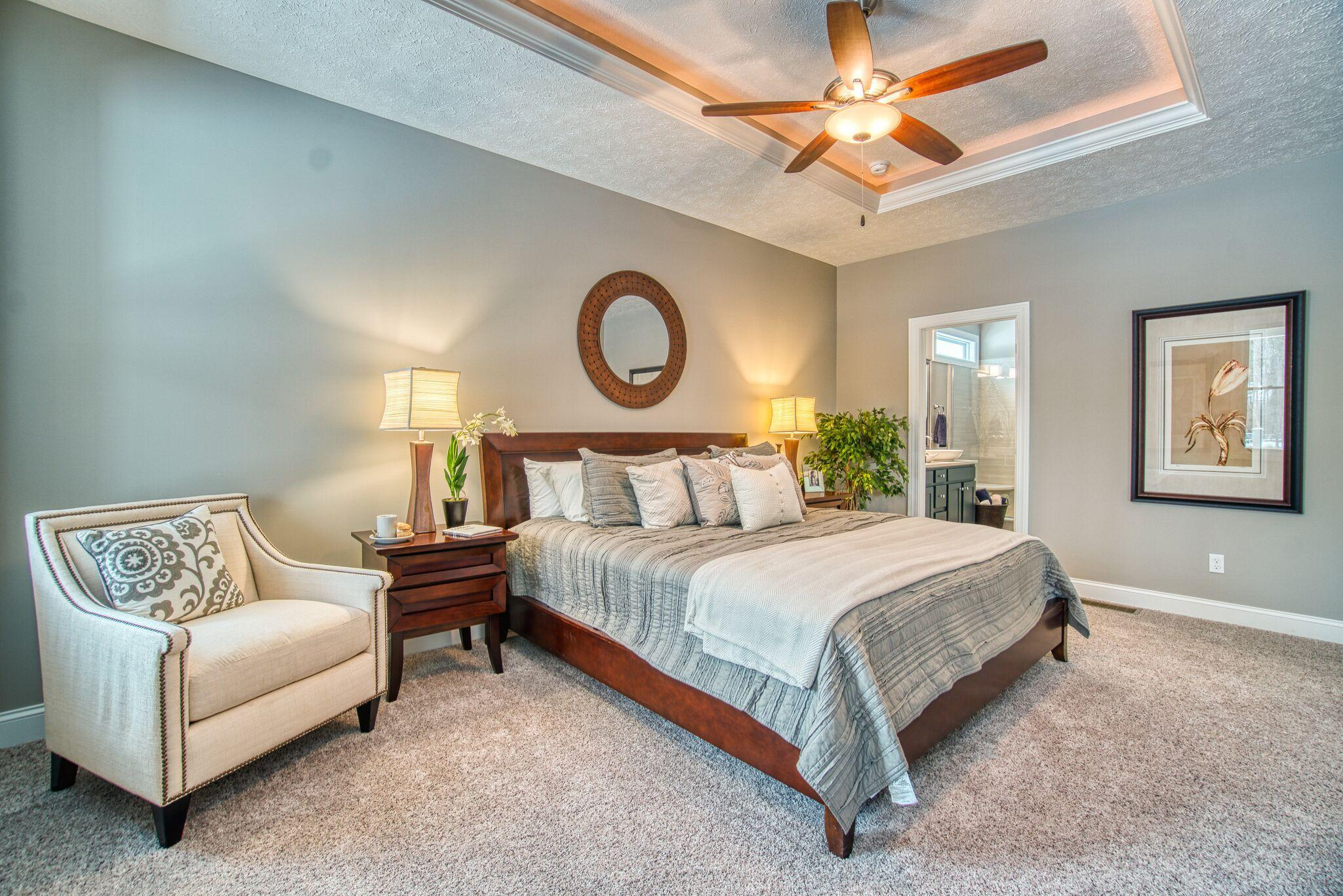 Bedroom featured in The Hamilton By Parkview Custom Homes  in Cleveland, OH