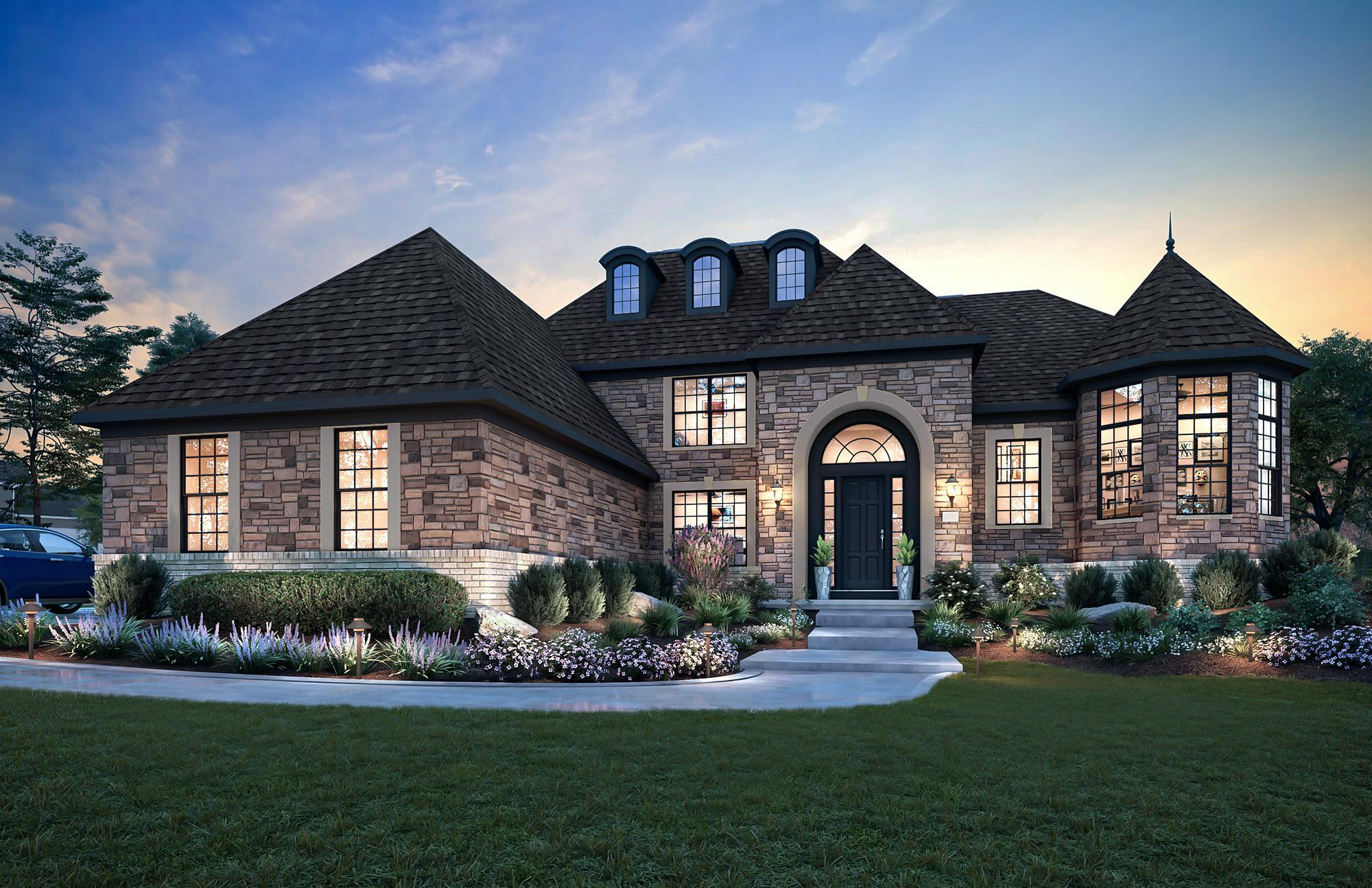 Exterior featured in the Mercato By Parkview Custom Homes  in Cleveland, OH