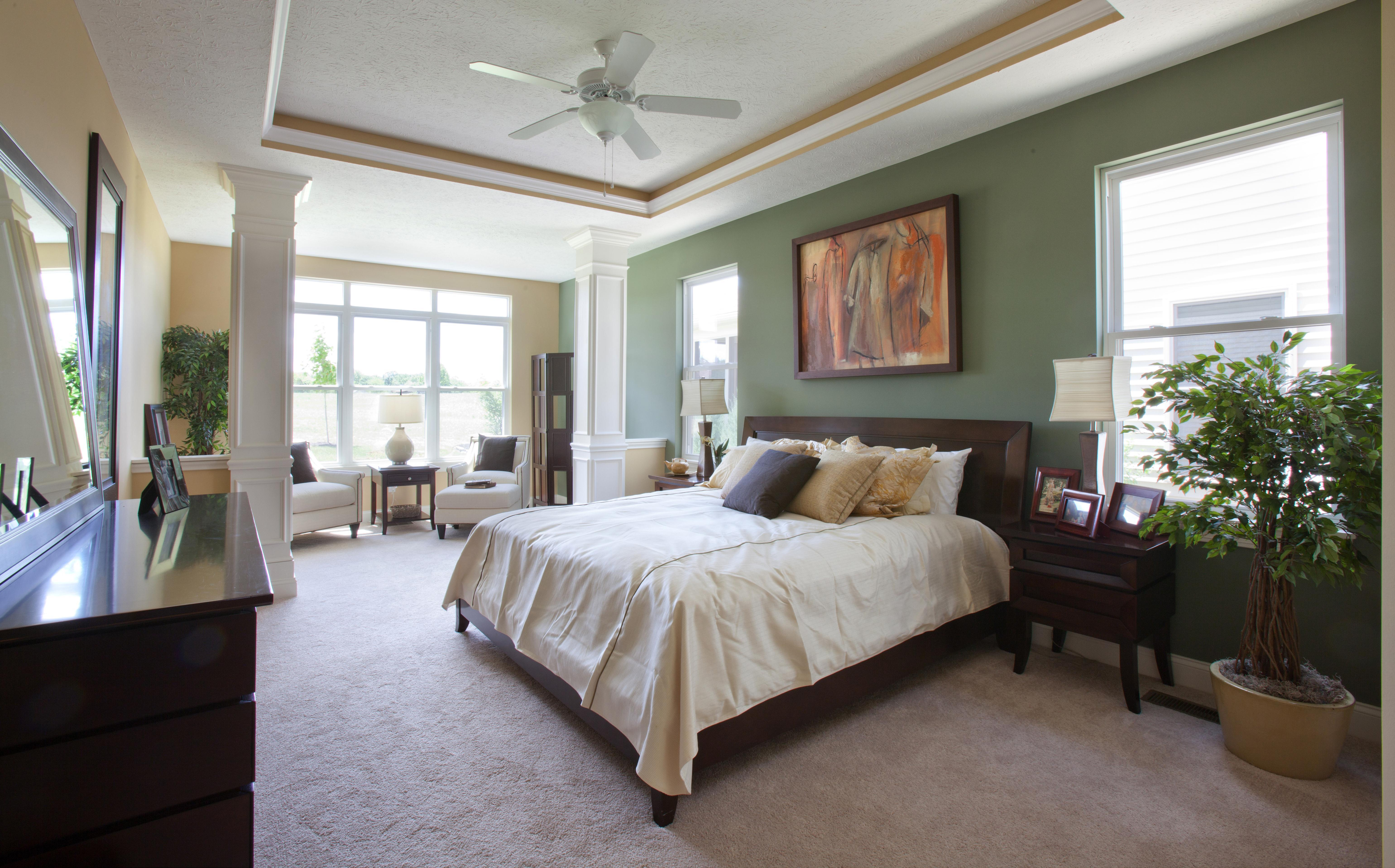 Bedroom featured in the Tuscany Villa By Parkview Custom Homes  in Cleveland, OH