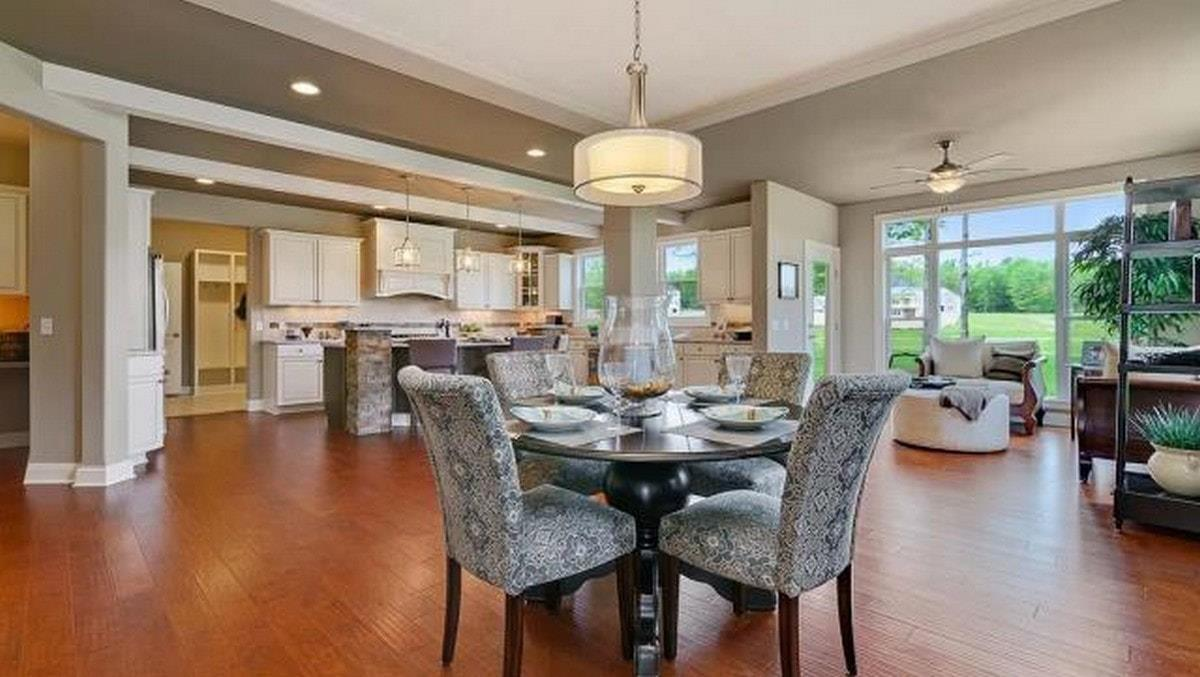 Kitchen featured in The Prescott  By Parkview Custom Homes  in Cleveland, OH