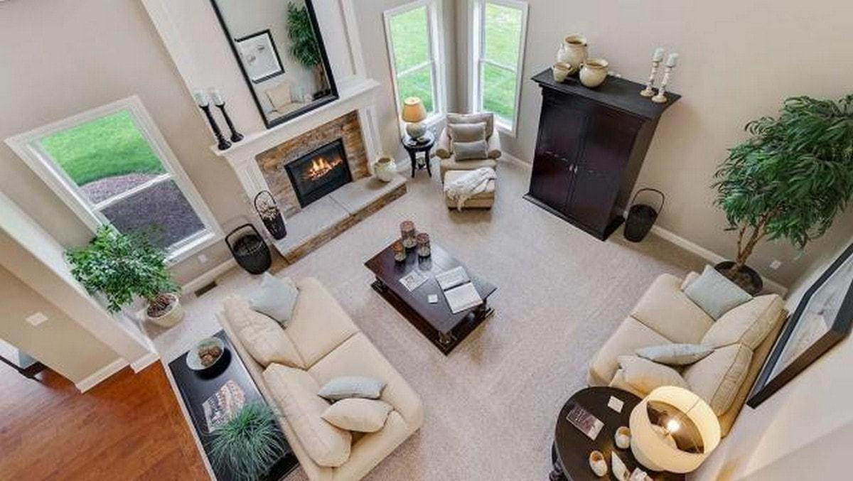 Living Area featured in The Prescott  By Parkview Custom Homes  in Cleveland, OH
