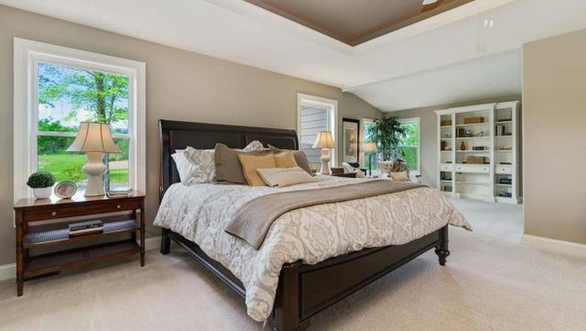 Bedroom featured in The Prescott  By Parkview Custom Homes  in Cleveland, OH