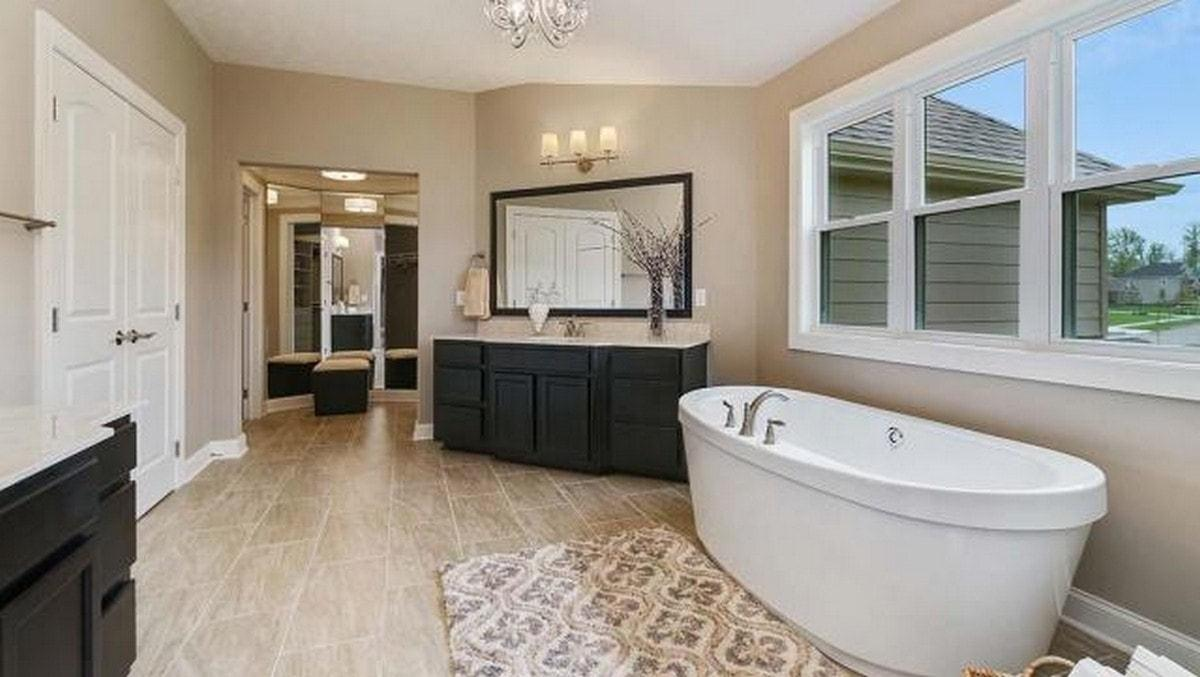 Bathroom featured in The Prescott  By Parkview Custom Homes  in Cleveland, OH