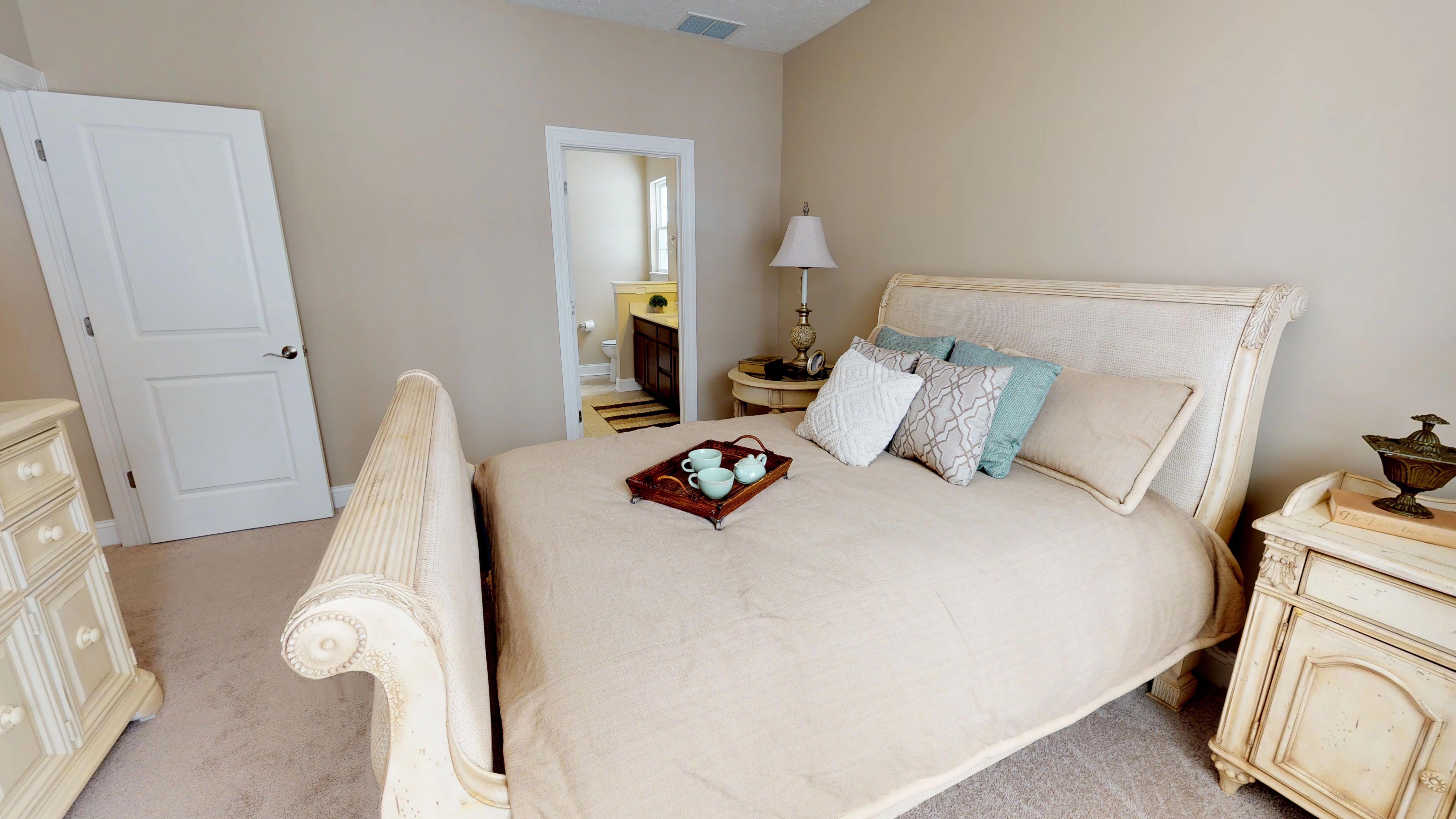 Bedroom featured in the Chateau Villa By Parkview Custom Homes  in Cleveland, OH