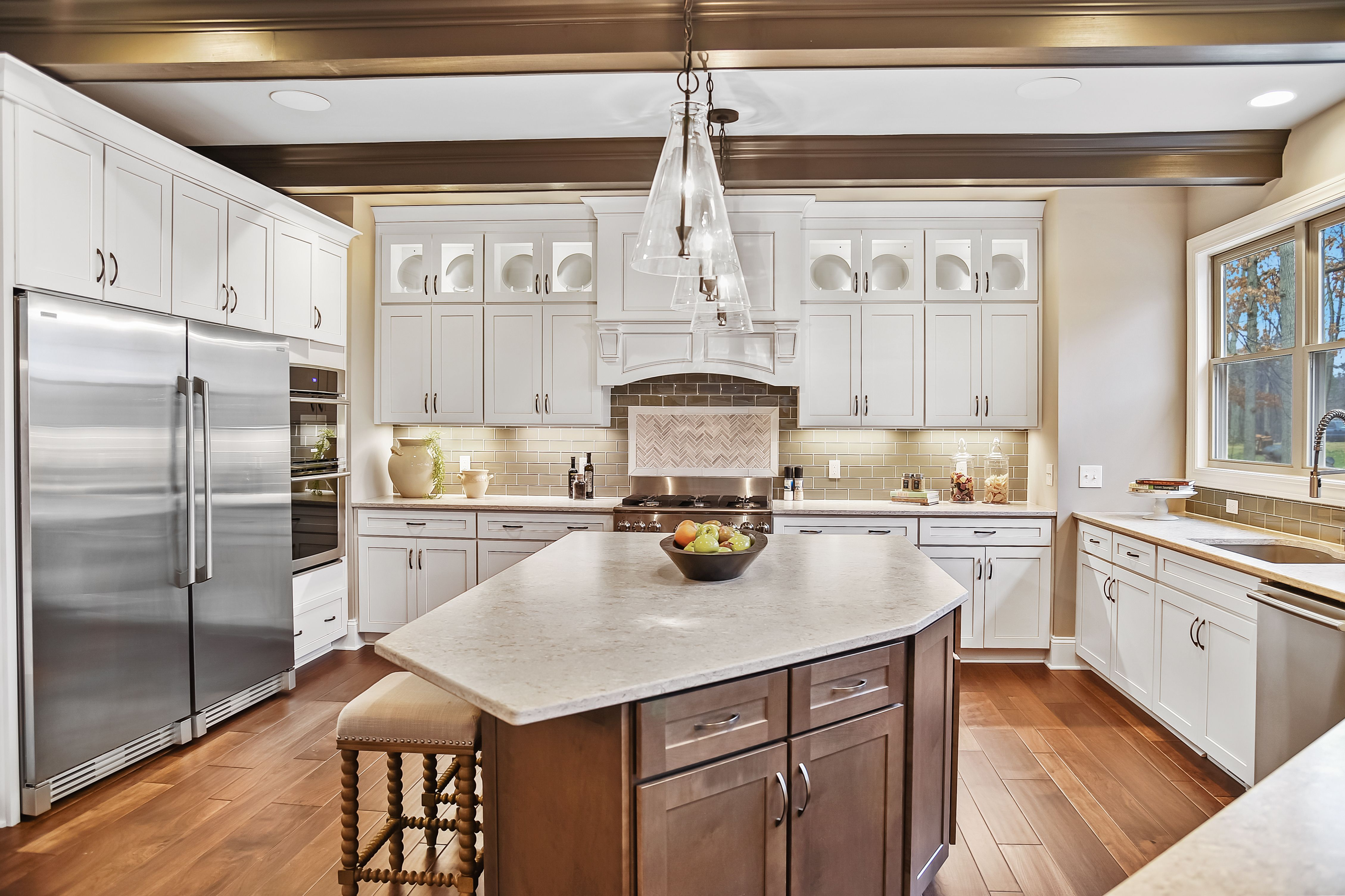 Kitchen featured in the Mercato By Parkview Custom Homes  in Cleveland, OH