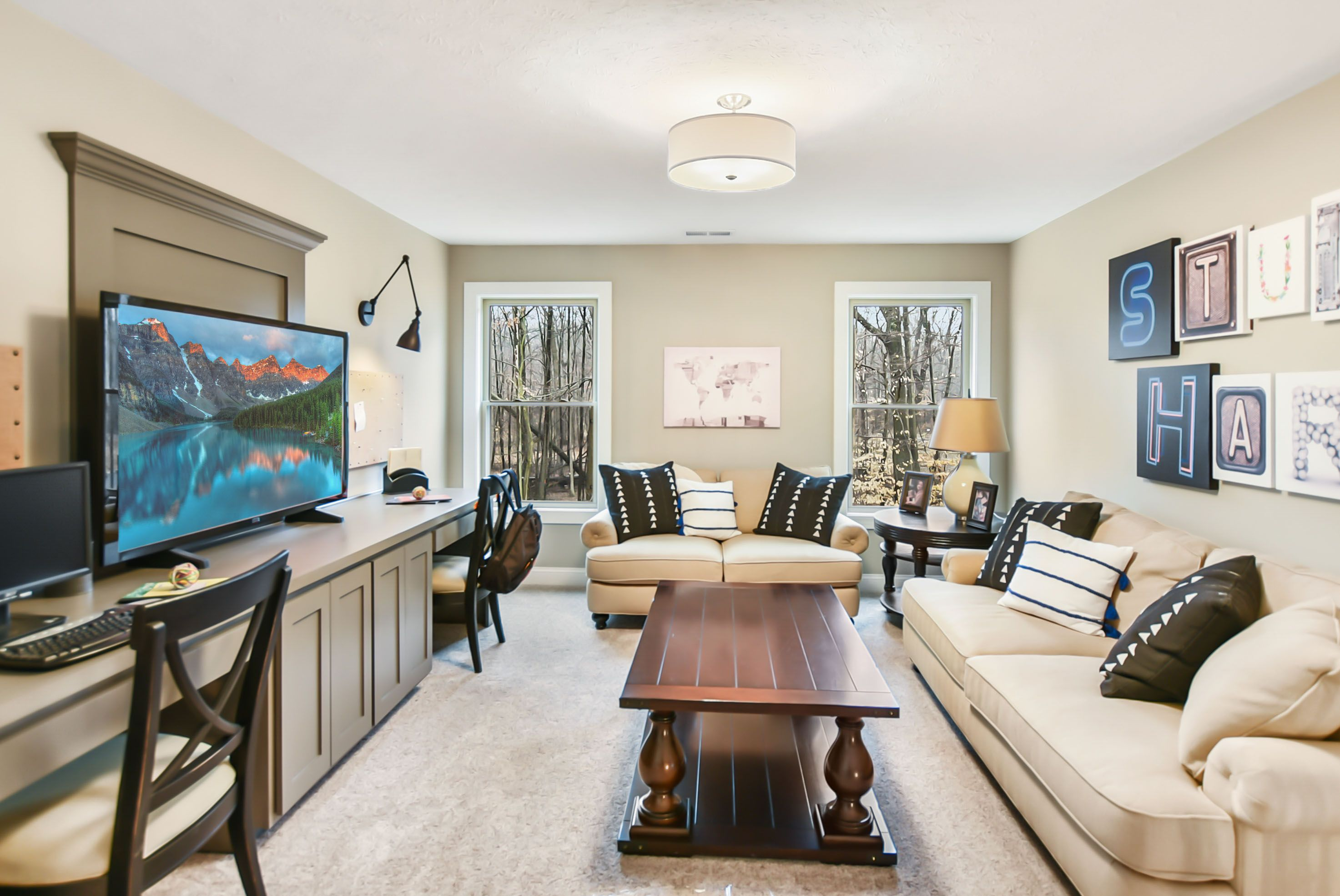 Living Area featured in the Mercato By Parkview Custom Homes  in Cleveland, OH