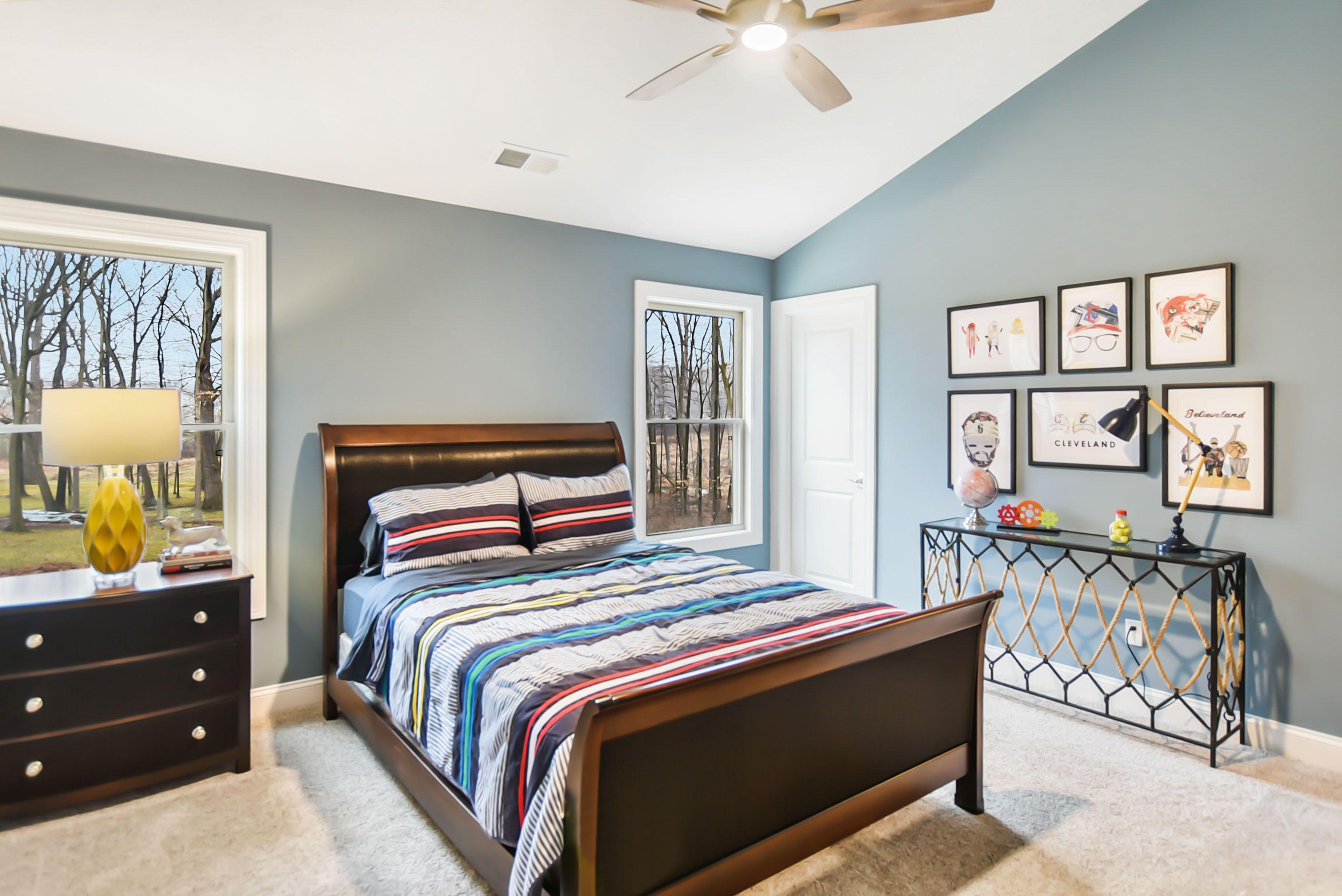 Bedroom featured in the Mercato By Parkview Custom Homes  in Cleveland, OH