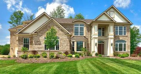 Exterior featured in The Prescott  By Parkview Custom Homes  in Cleveland, OH