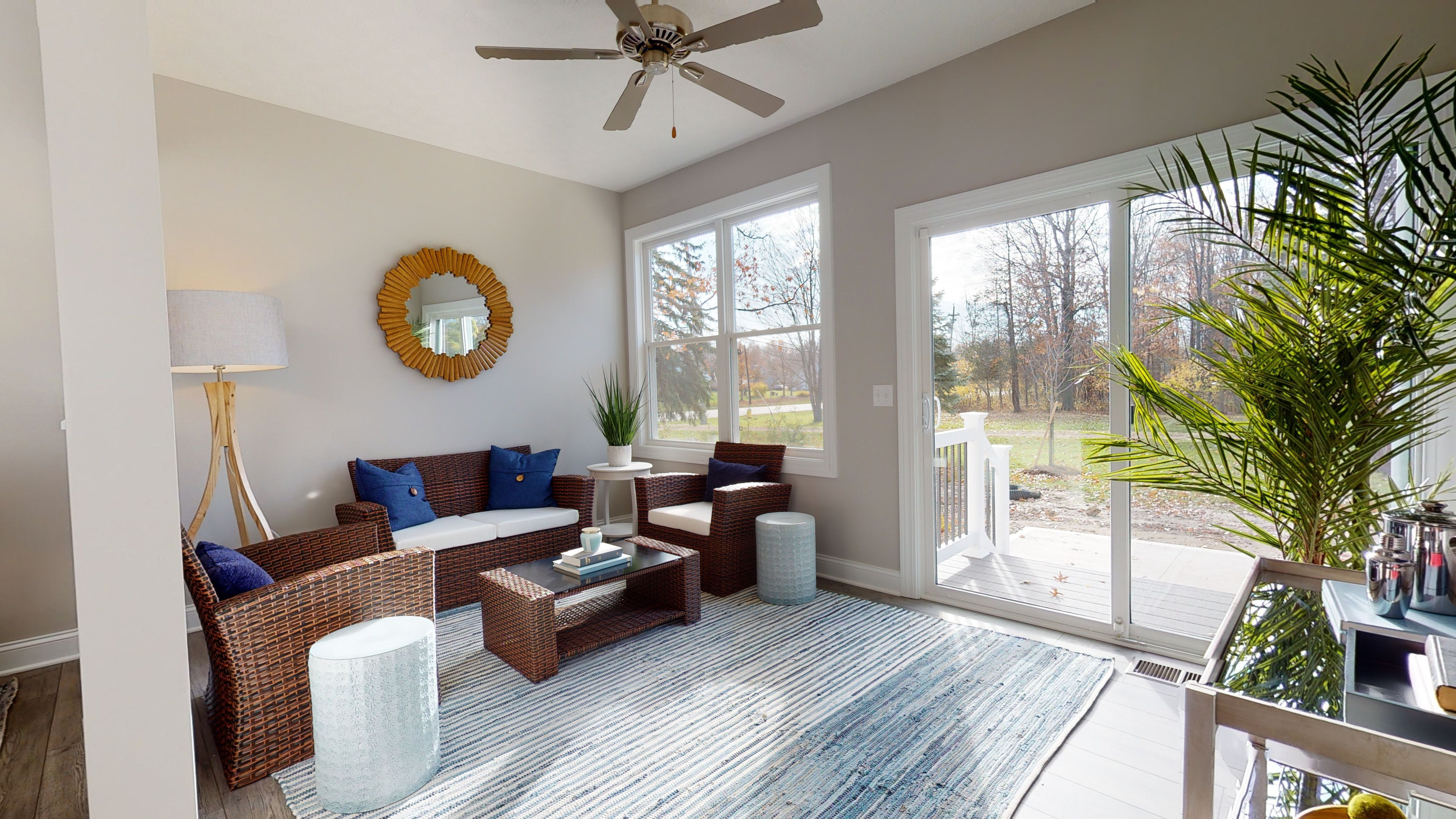Living Area featured in The Capri By Parkview Homes in Cleveland, OH