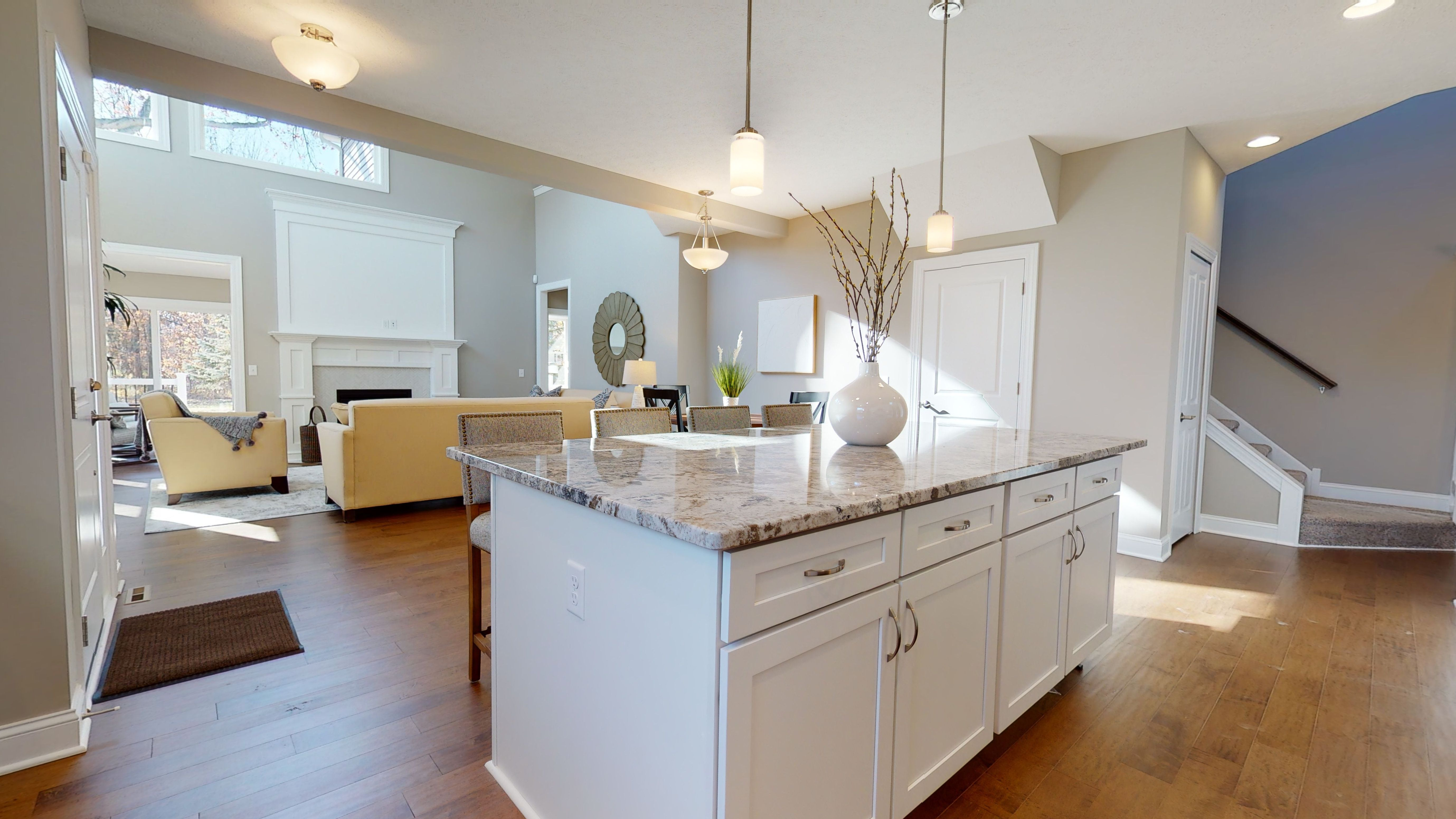 Kitchen featured in The Emilia By Parkview Custom Homes  in Cleveland, OH