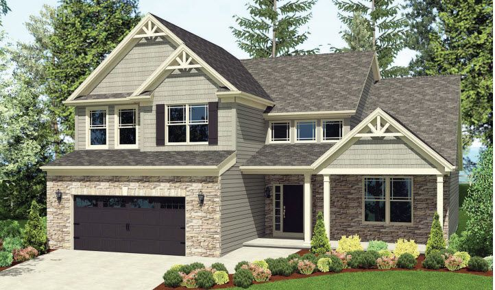 Exterior featured in The Lexington By Parkview Custom Homes  in Cleveland, OH