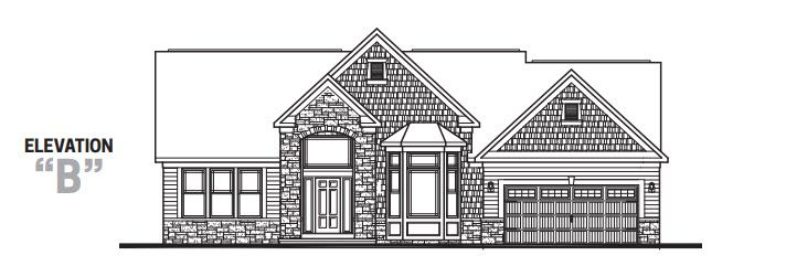 Exterior featured in The Montclair By Parkview Custom Homes  in Cleveland, OH