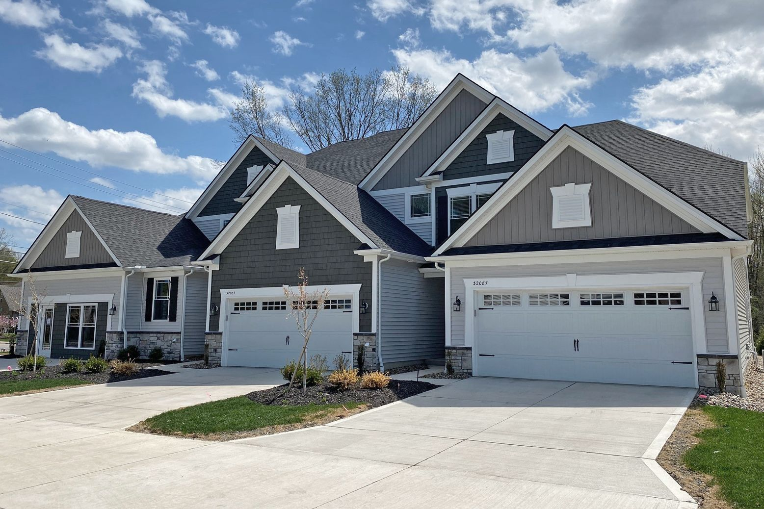 Exterior featured in The Capri By Parkview Custom Homes  in Cleveland, OH