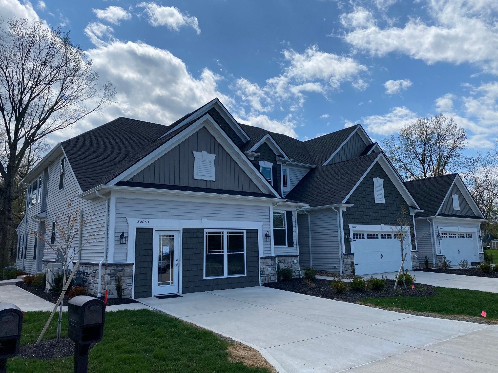 Exterior featured in The Emilia By Parkview Custom Homes  in Cleveland, OH