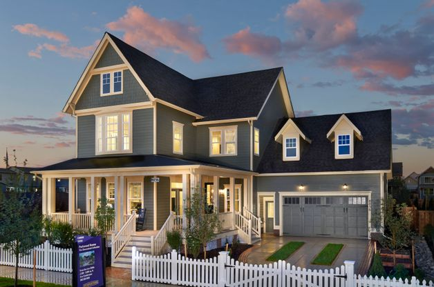 The Asheville Single Family Home:The Asheville is one of our best-selling single family homes, featuring an wide open main floor that's perfect for entertaining.