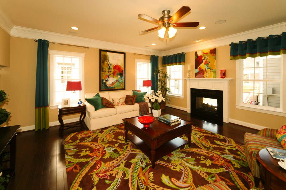 Living Area featured in The Chesapeake - Shenandoah Collection By Parkwood Homes in Denver, CO