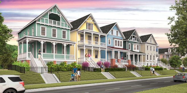 The Fillmore - Painted Ladies Collection