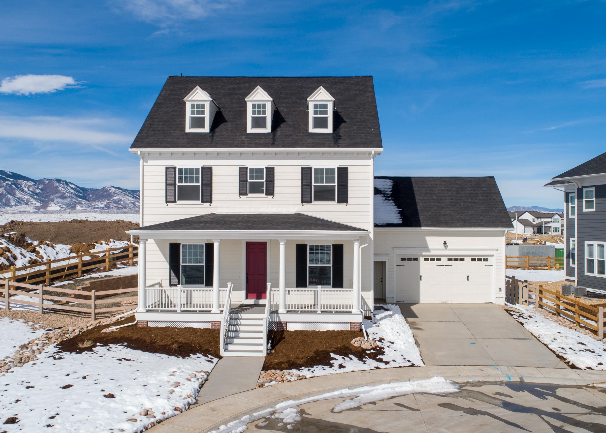Exterior featured in The Chesapeake - Shenandoah Collection By Parkwood Homes in Denver, CO