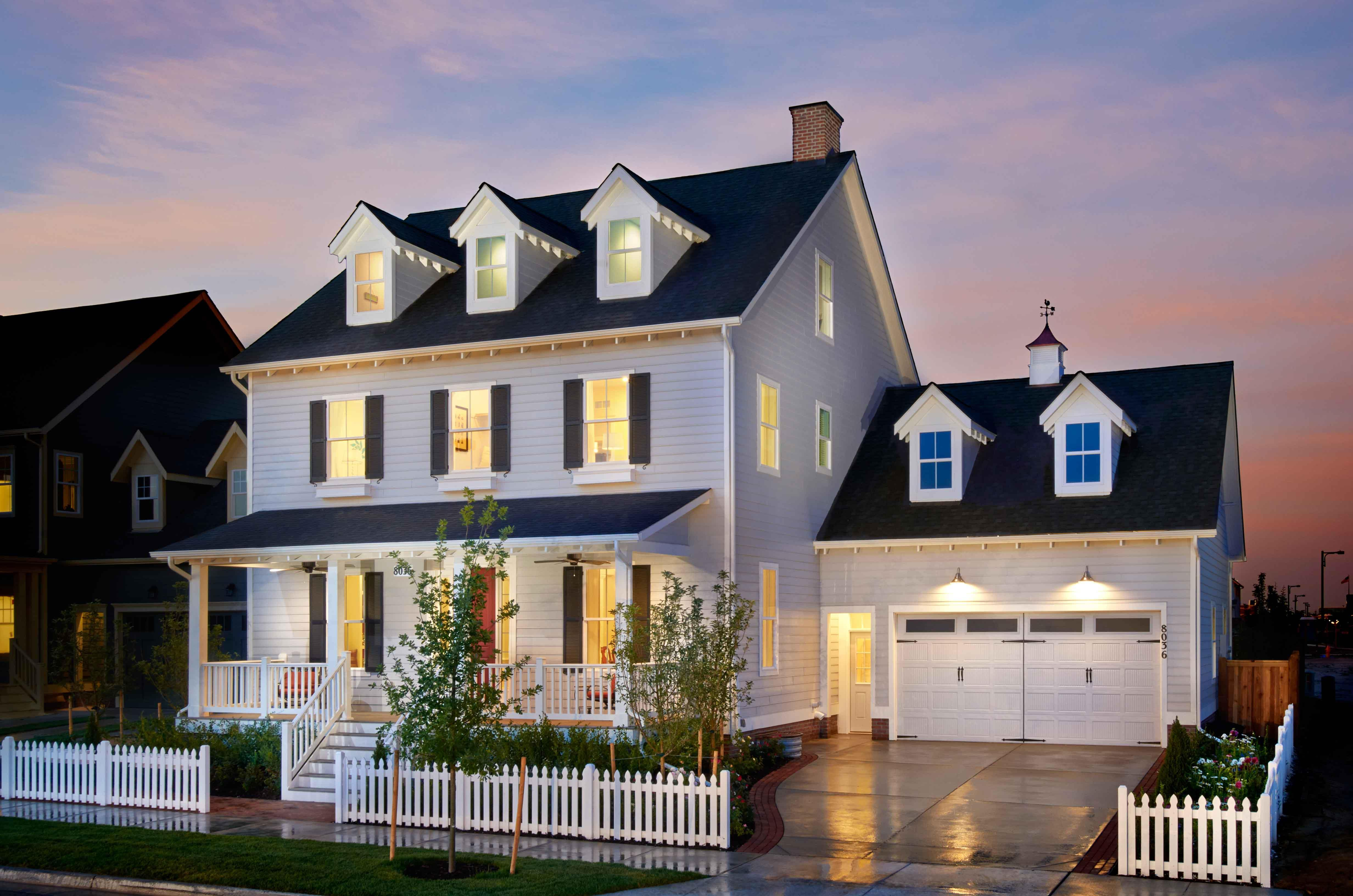 Exterior featured in The Saybrook - Shenandoah Collection By Parkwood Homes in Denver, CO