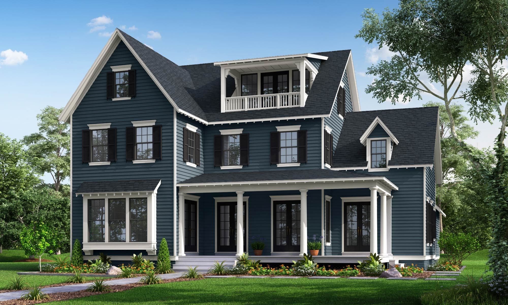 Exterior featured in the Brookhaven By Parkwood Homes in Salt Lake City-Ogden, UT
