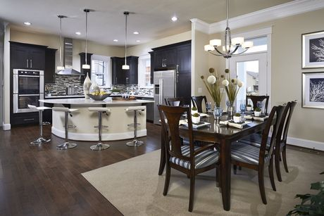 Kitchen-in-The Belmont - Beacon Hill Collection-at-Stapleton-in-Denver