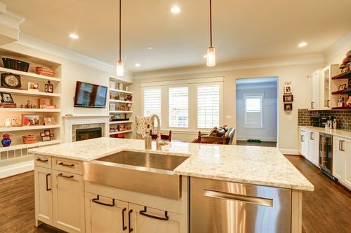 Kitchen-in-The Rockport - Beacon Hill Collection-at-Stapleton-in-Denver