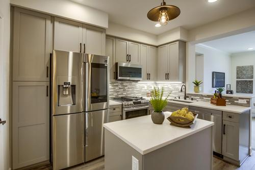Kitchen-in-Plan 1R-at-Paseo Village Townhomes-in-Ramona