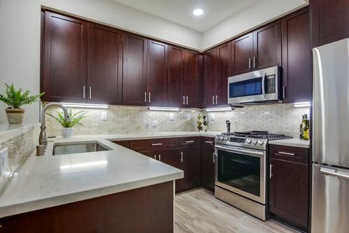 Kitchen-in-Plan 2R-at-Paseo Village Townhomes-in-Ramona