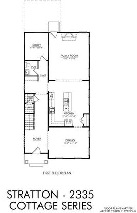 The Stratton:First Floor