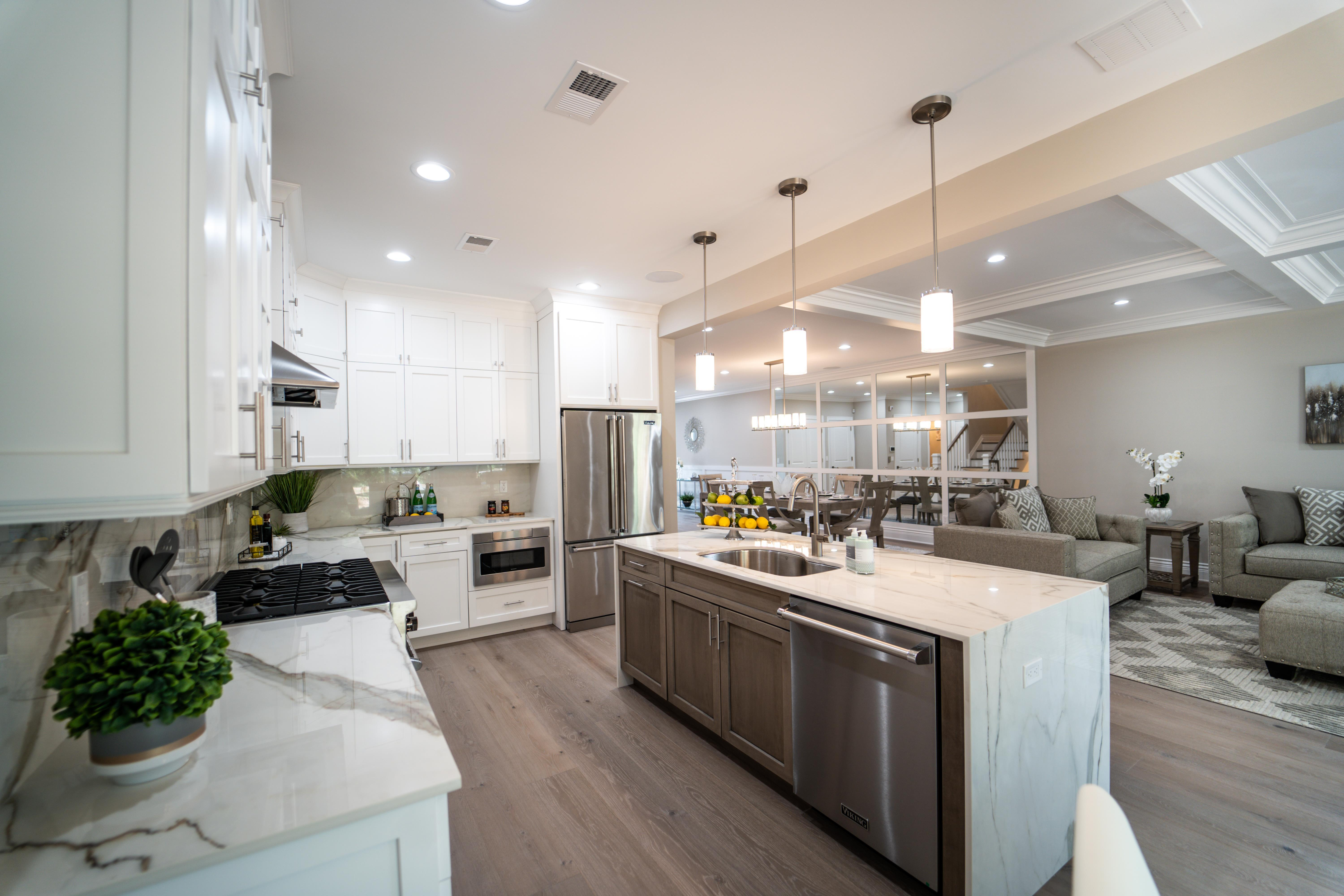 Kitchen featured in the Villa Capri By Paul Anthony Agency in Somerset County, NJ
