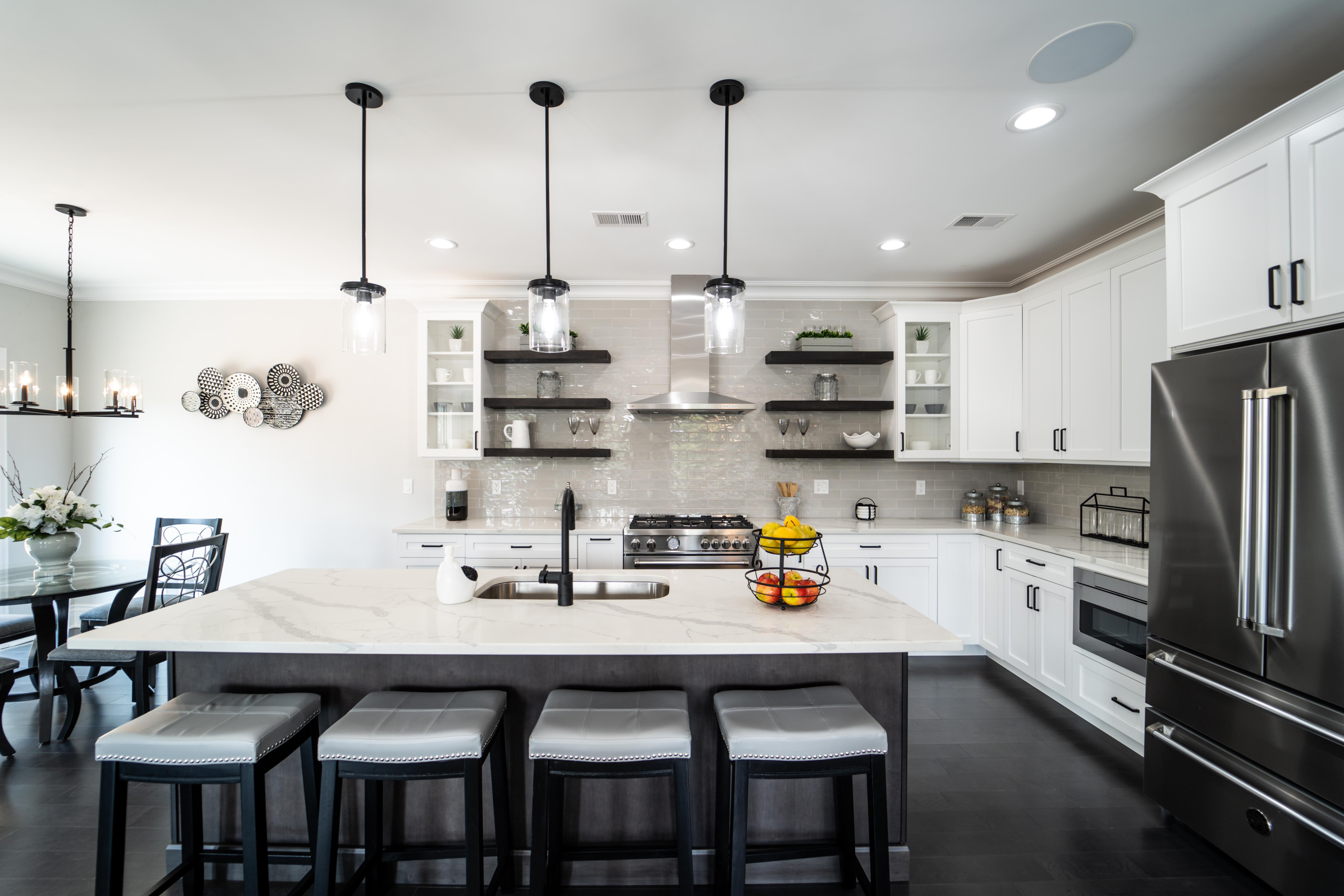 Kitchen featured in the Villa Vizcaya By Paul Anthony Agency in Somerset County, NJ
