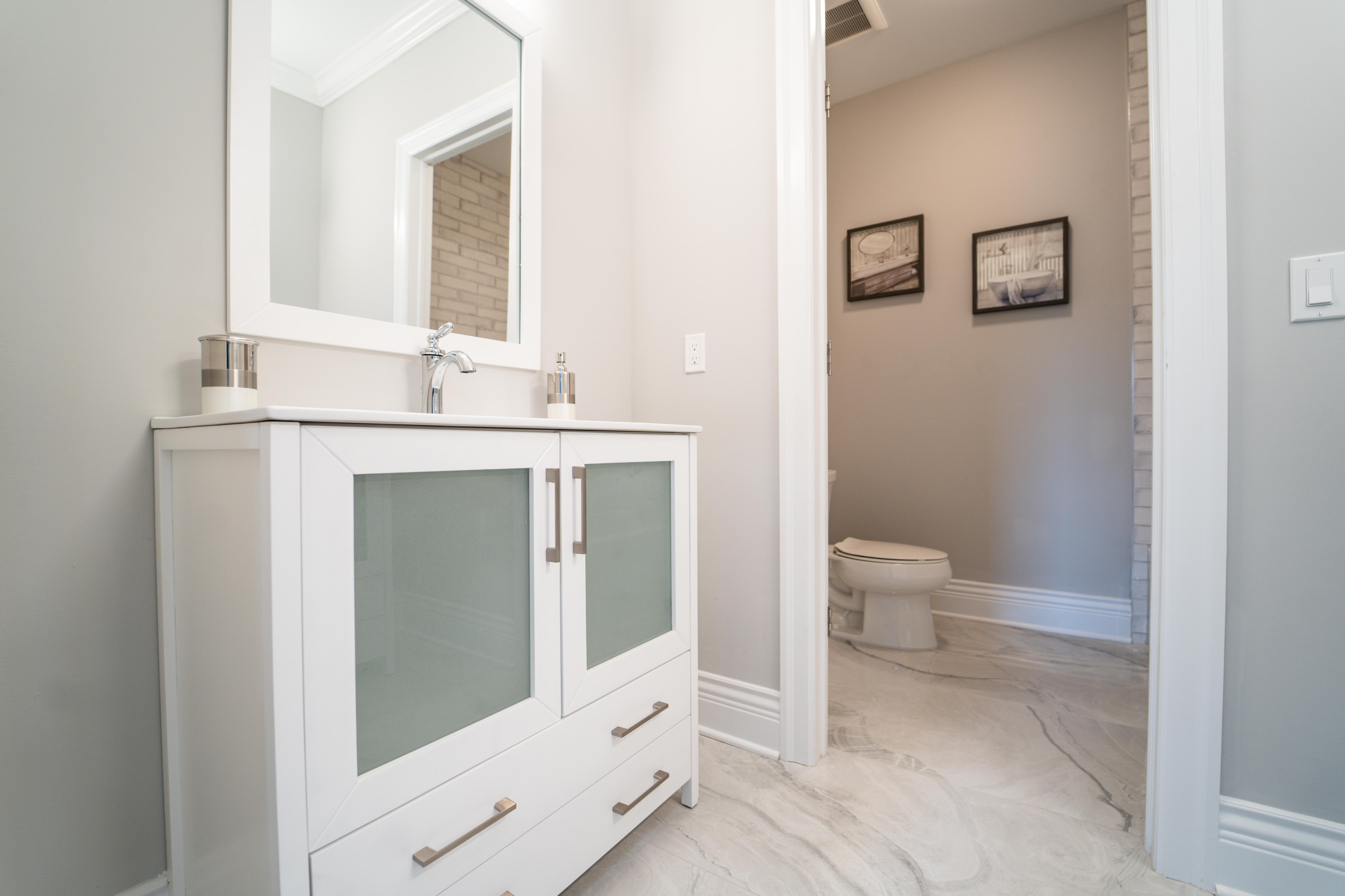 Bathroom featured in the Villa Vizcaya By Paul Anthony Agency in Somerset County, NJ