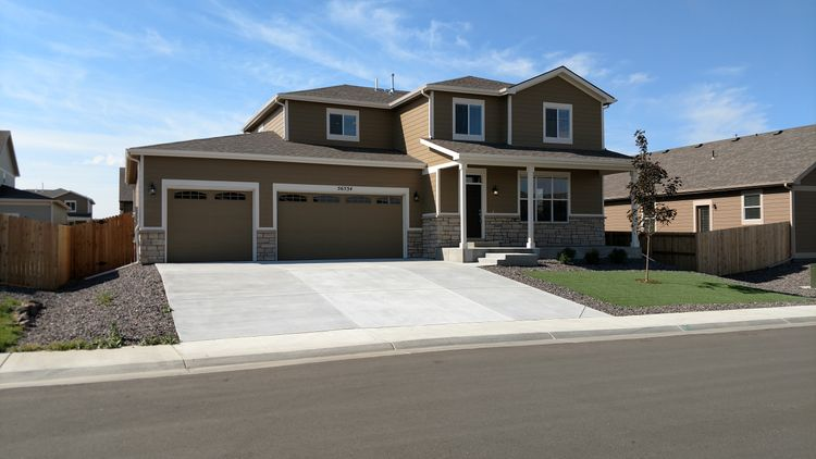 Exterior featured in the Violet at Blackstone Ranch By Pauls Homes in Denver, CO