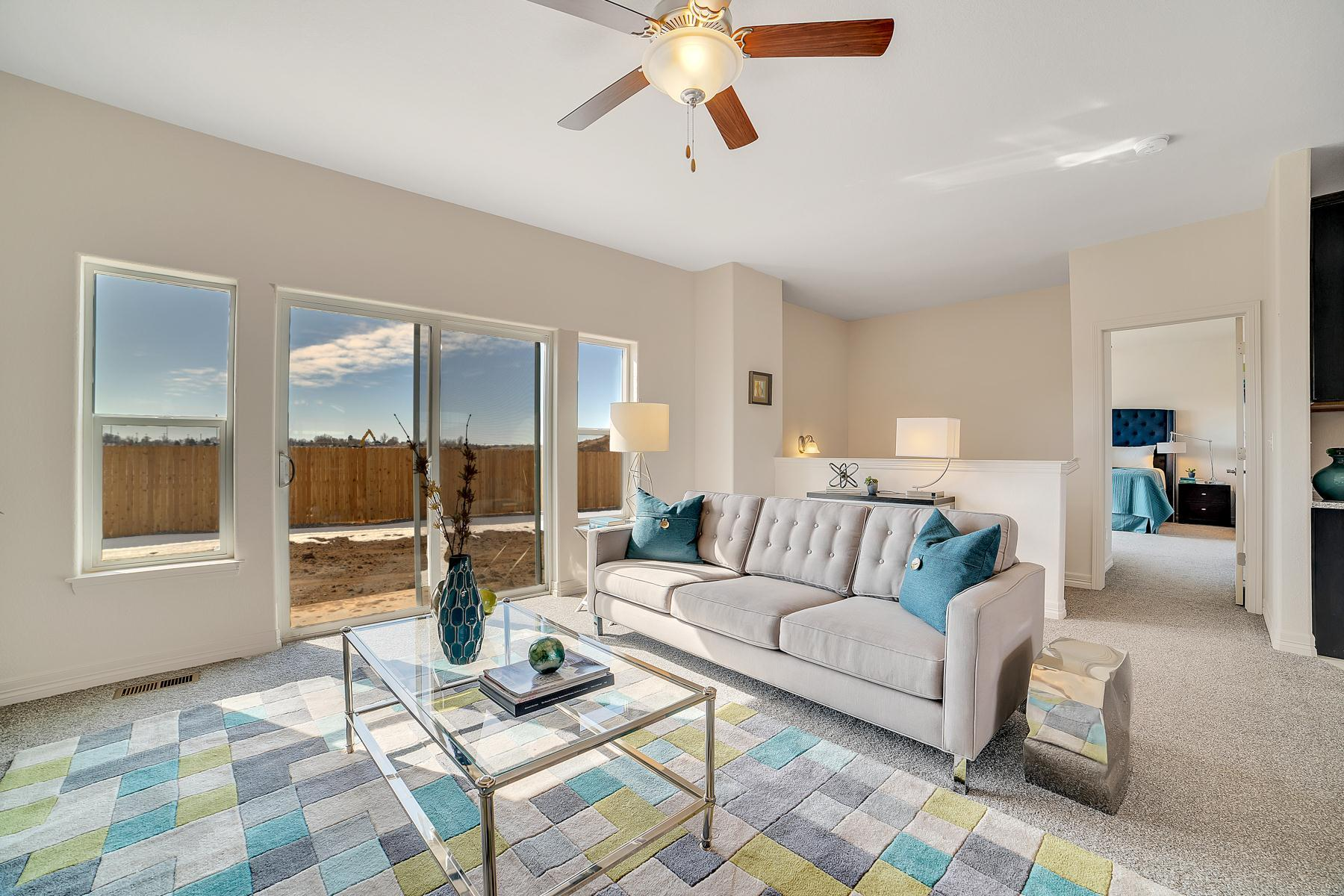 Living Area featured in the Primrose at Blackstone Ranch By Pauls Homes in Denver, CO