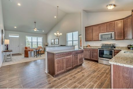 Kitchen-in-Sage at Blackstone Ranch-at-Strasburg New Homes-in-Strasburg