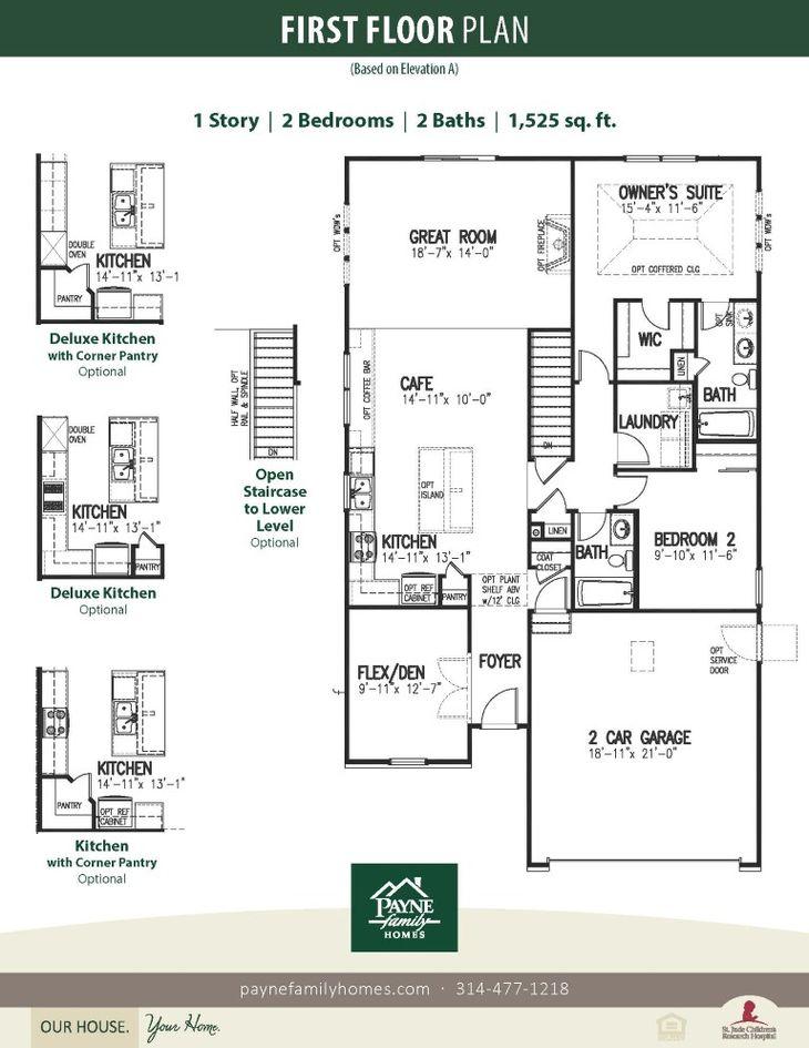 Carefree Stewart:First Floor Plan