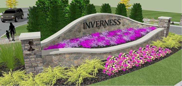 Inverness Coming Soon:Community Monument at Entrance