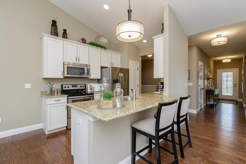 Kitchen-in-Sinclair-at-Provence, The Villages of-in-Saint Charles