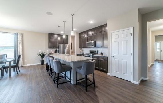 Kitchen-in-Hamilton-at-Riverdale-in-O Fallon