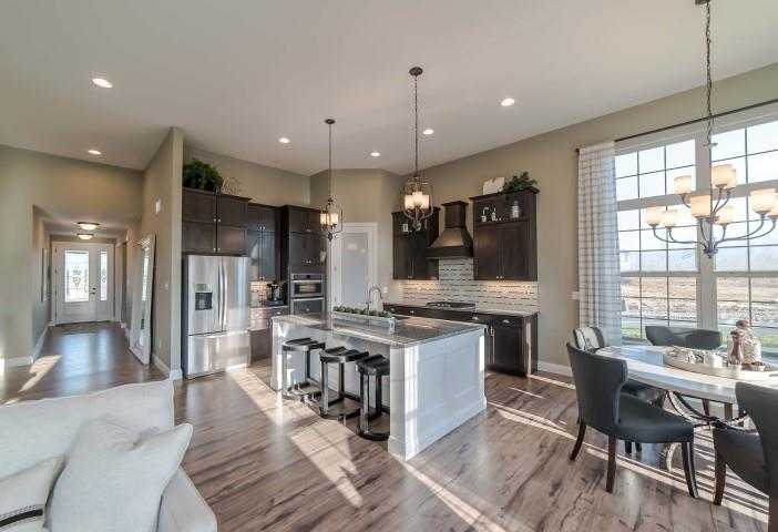 Kitchen featured in the Ashton By Payne Family Homes LLC in St. Louis, MO