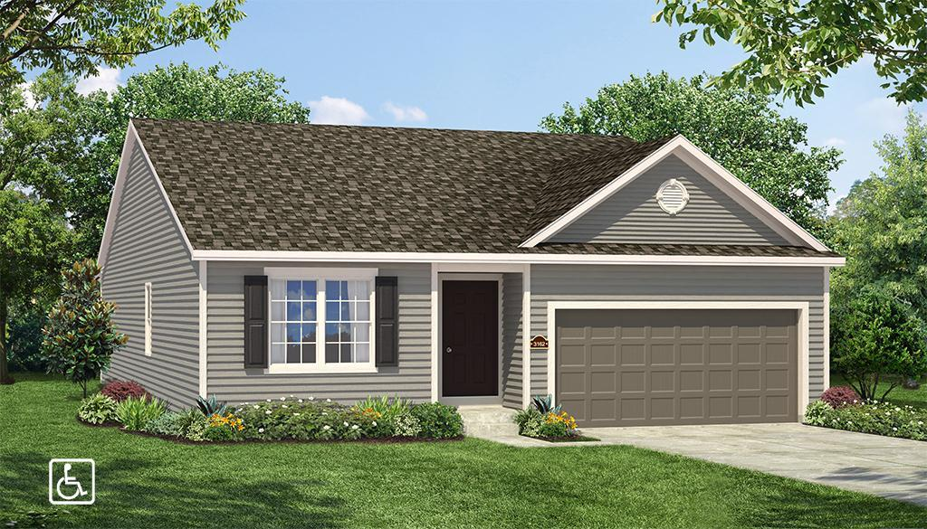Exterior featured in the Roosevelt By Payne Family Homes LLC in St. Louis, MO