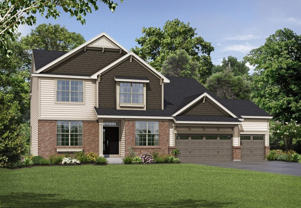Exterior featured in the Montego II By Payne Family Homes LLC in St. Louis, MO
