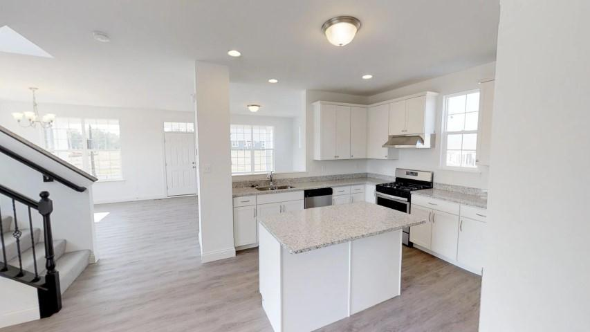 Kitchen featured in the Arlington By Payne Family Homes LLC in St. Louis, MO
