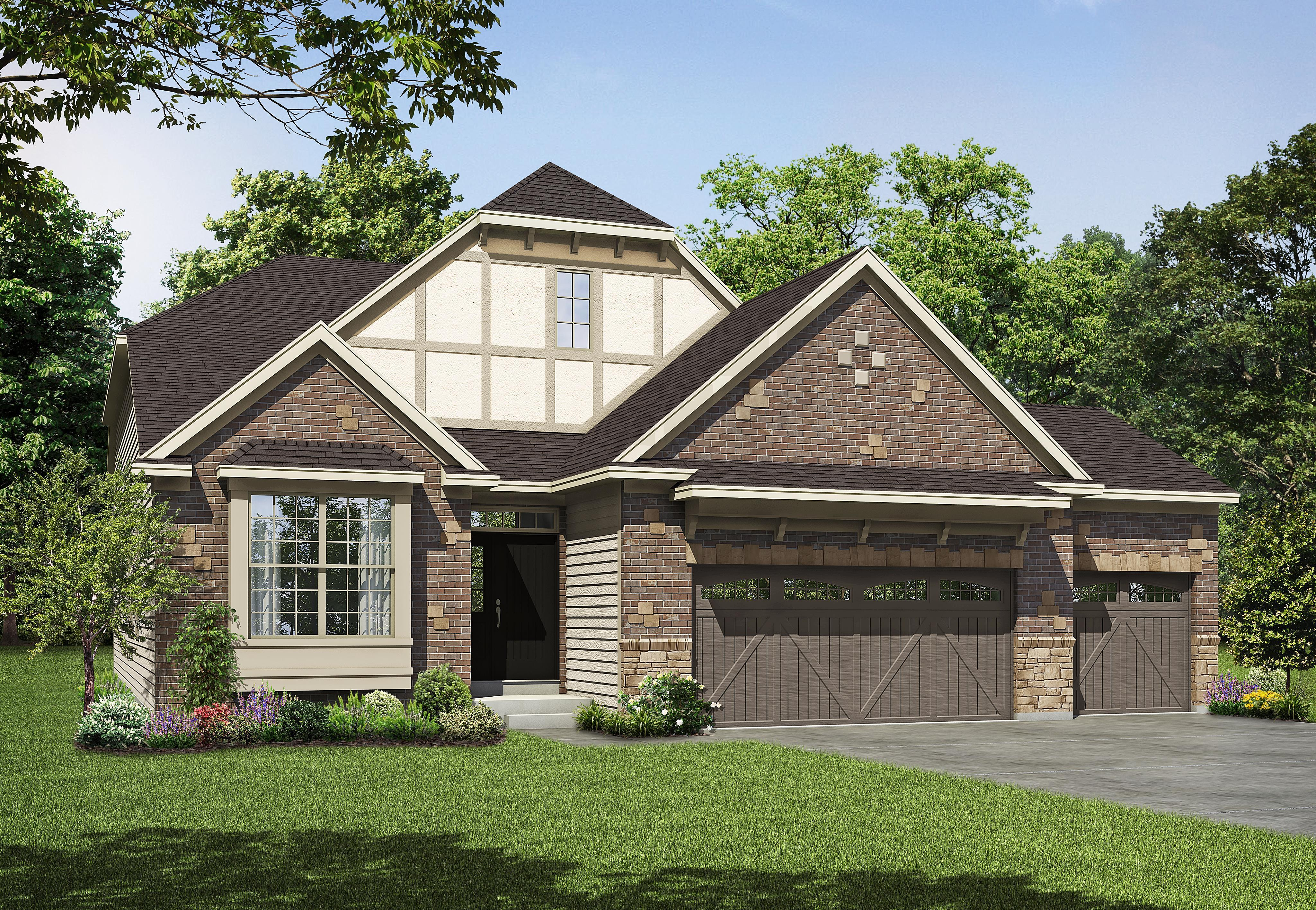 Exterior featured in the Meridian By Payne Family Homes LLC in St. Louis, MO