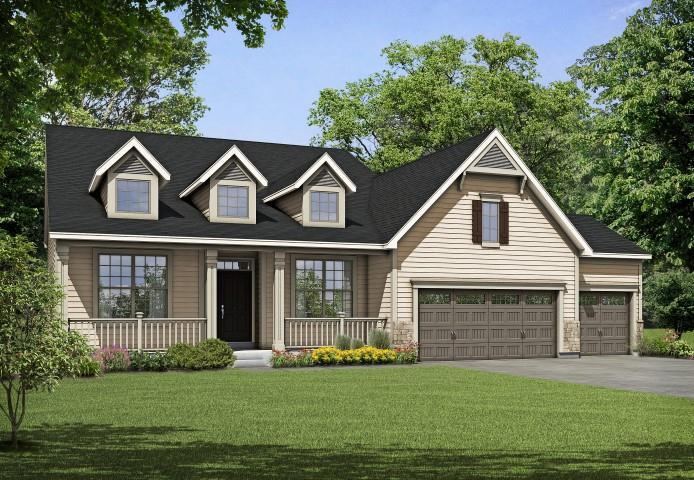 Exterior featured in the Meridian II By Payne Family Homes LLC in St. Louis, MO