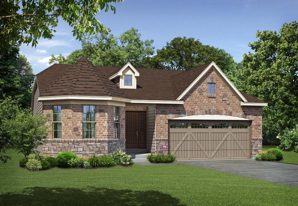 Exterior featured in the Hamilton By Payne Family Homes LLC in St. Louis, MO