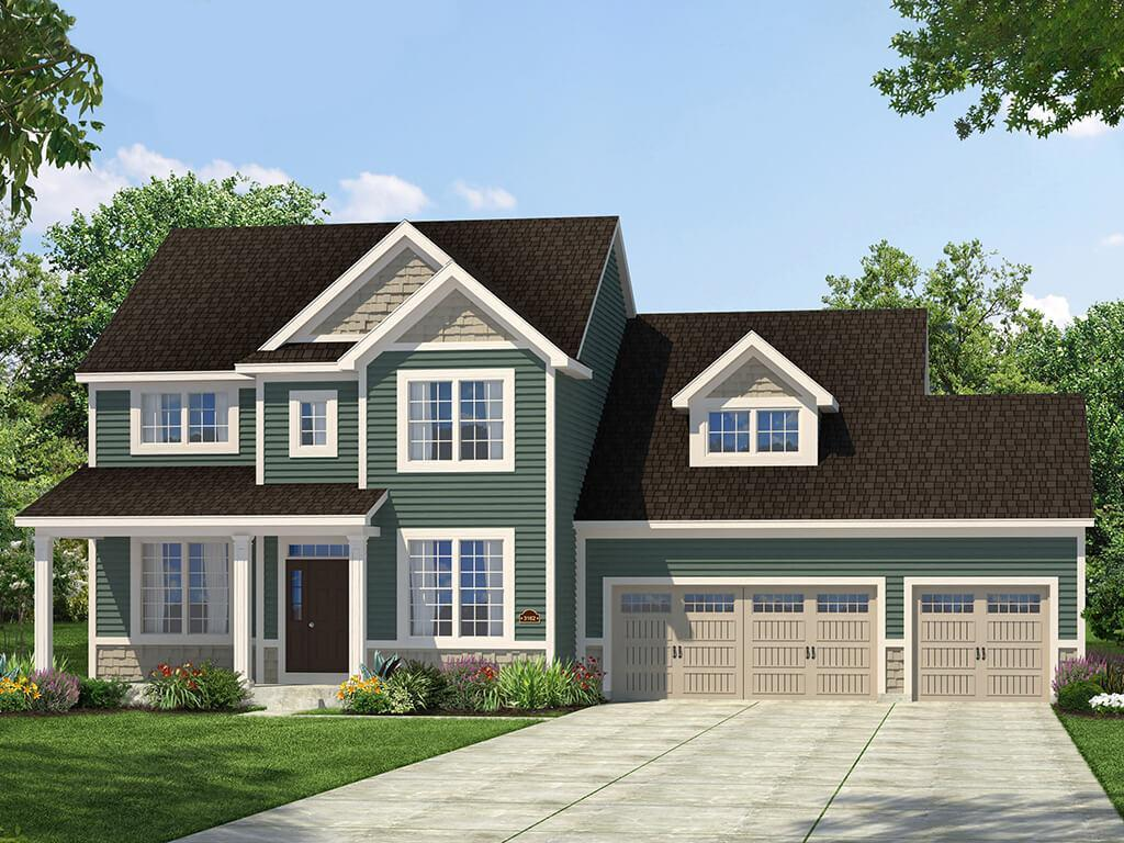Exterior featured in the Adelaide II By Payne Family Homes LLC in St. Louis, MO